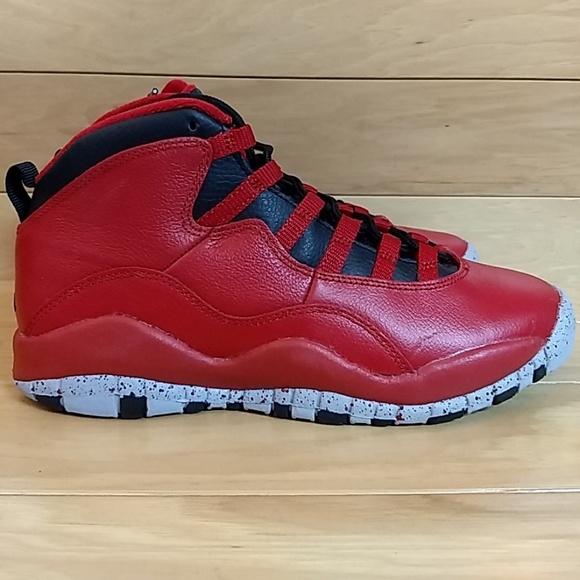 4a15577843b7 Air Jordan 10 Retro 5.5 Youth Bulls Over Broadway